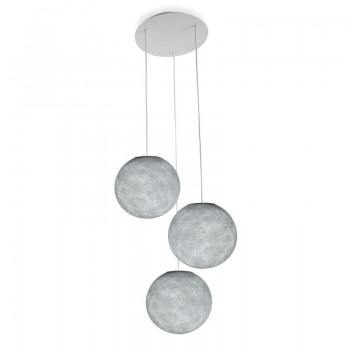 Lámpara de techo 3 globos S gris perla - Lámpara de techo 3 - La Case de Cousin Paul