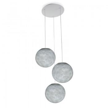 Plafoniera 3 sfere S grigio perla - Plafonnier 3 - La Case de Cousin Paul