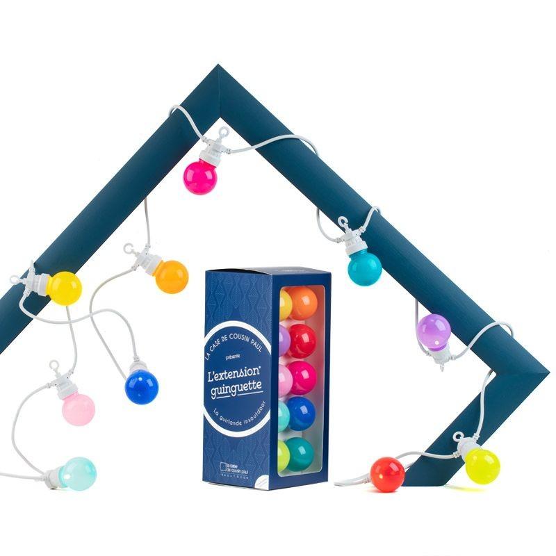 Extension Guinguette Bahia white cable - Guinguette gift boxes  - La Case de Cousin Paul