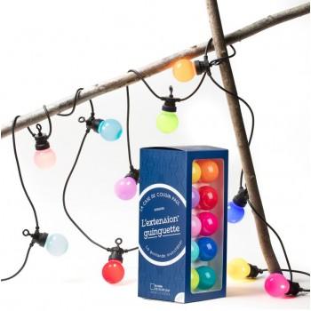 extension guirlande LED guinguette bahia