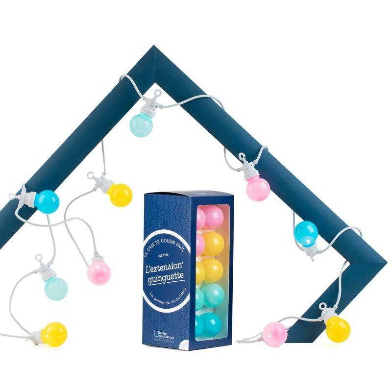 Extension Guinguette Maya Bay white cord - Guinguette gift boxes  - La Case de Cousin Paul