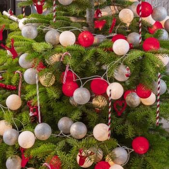 guirlande lumineuse composition Noël Lutin