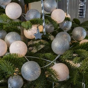 """Leutchgirland Pimp ton sapin """"Luge"""" - Weihnachtsdekoration - La Case de Cousin Paul"""