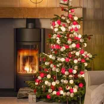"3 Leutchgirland Pimp ton sapin ""Lutin"" - Weihnachtsdekoration - La Case de Cousin Paul"