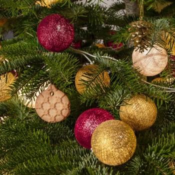 "Leutchgirland Pimp ton sapin ""Carillon"" - Weihnachtsdekoration - La Case de Cousin Paul"