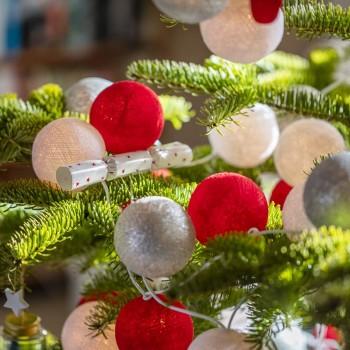 "Leutchgirland Pimp ton sapin ""Lutin"" - Weihnachtsdekoration - La Case de Cousin Paul"