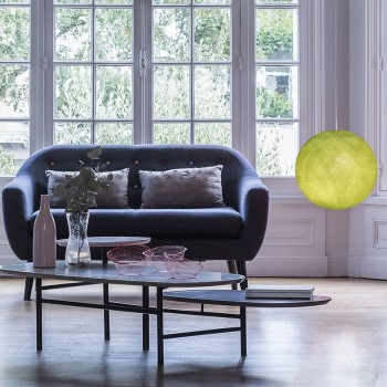 Lampenschirme Einzeln Globus Mandelgrün - Lampenschirm globus - La Case de Cousin Paul
