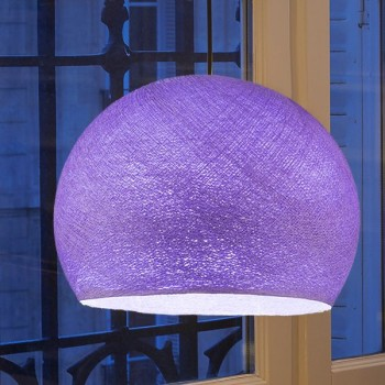 purple - Lampshades cupolas - La Case de Cousin Paul