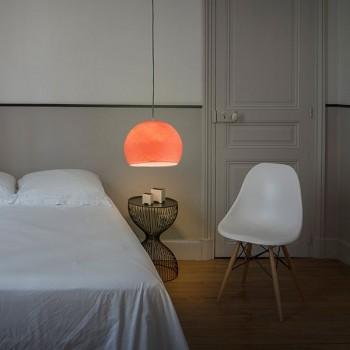 Lampenschirme Einzeln Kuppeln Lachsrosa - Lampenschirm kuppeln - La Case de Cousin Paul