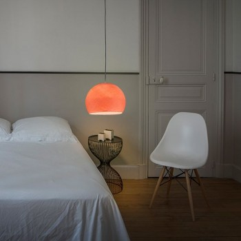 zalm - Lampenkappen Los koepellampen - La Case de Cousin Paul