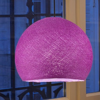 cardinal purple - Lampshades cupolas - La Case de Cousin Paul