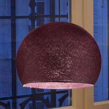 aubergine - Lampshades cupolas - La Case de Cousin Paul