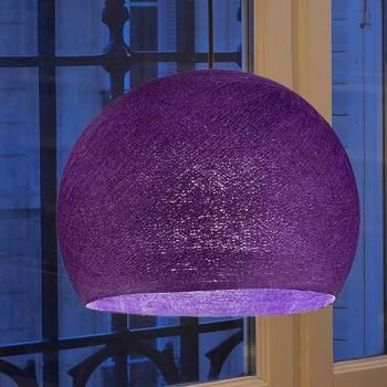 parma dunkel - Lampenschirm kuppeln - La Case de Cousin Paul