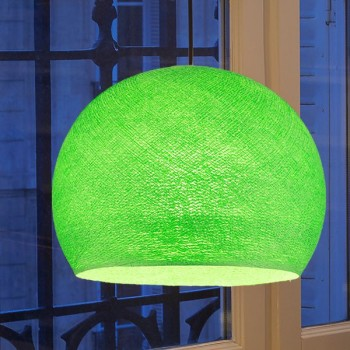 bright green - Lampshades cupolas - La Case de Cousin Paul