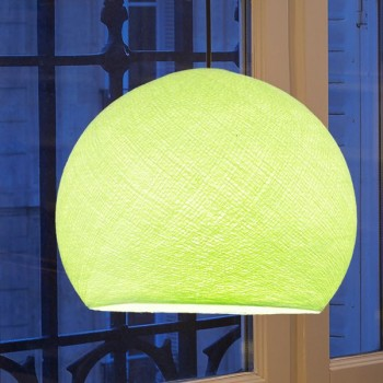 almond green - Lampshades cupolas - La Case de Cousin Paul