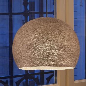 Lampenschirme Einzeln Kuppeln Glanzbraun - Lampenschirm Kuppel  - La Case de Cousin Paul