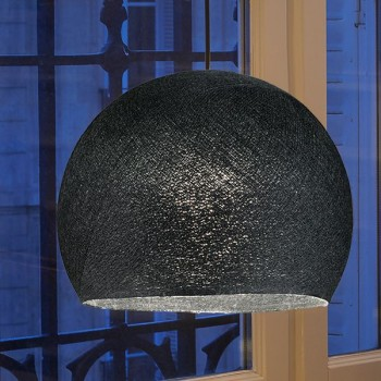 zwart - Lampenkappen Los koepellampen - La Case de Cousin Paul