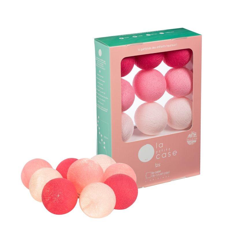 9 balls Louise - Coffrets Guirlande veilleuse bébé - La Case de Cousin Paul