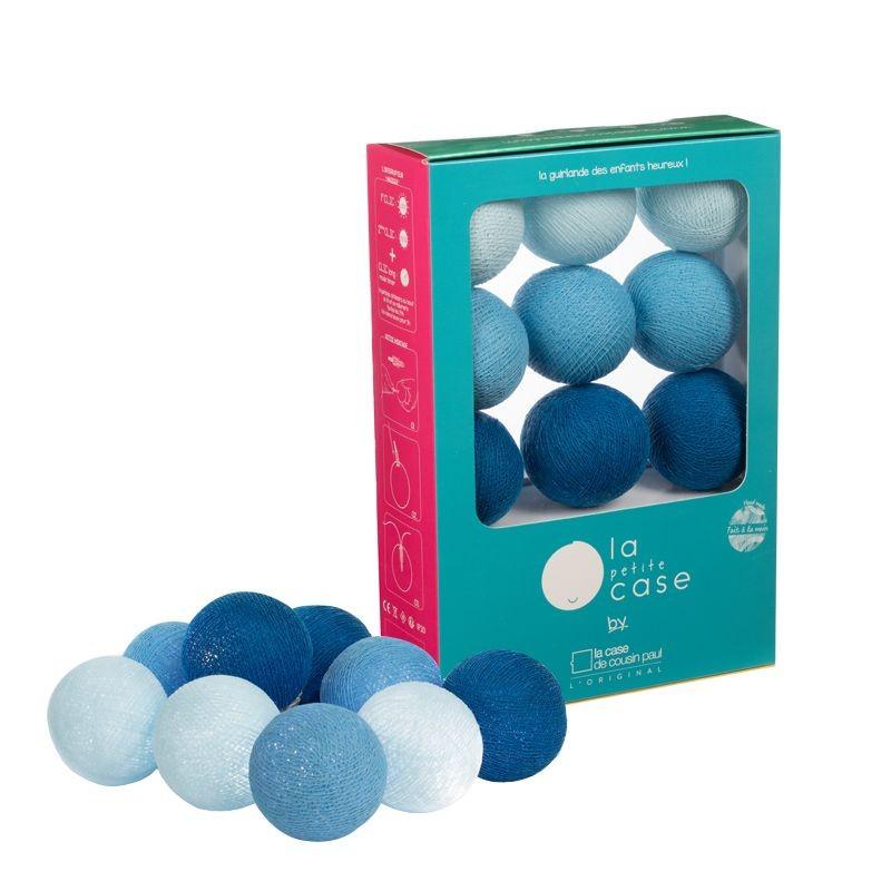 9 balls Lucien - Coffrets Guirlande veilleuse bébé - La Case de Cousin Paul