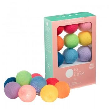 9 balls Oscar - Coffrets Guirlande veilleuse bébé - La Case de Cousin Paul