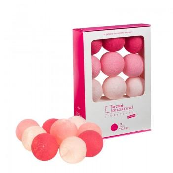 Coffret 9 boules à piles Louise - Coffrets Guirlande veilleuse bébé - La Case de Cousin Paul