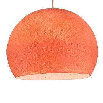 salmon pink - Lampshades cupolas - La Case de Cousin Paul