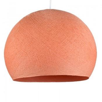 lachsrosa - Lampenschirm kuppeln - La Case de Cousin Paul