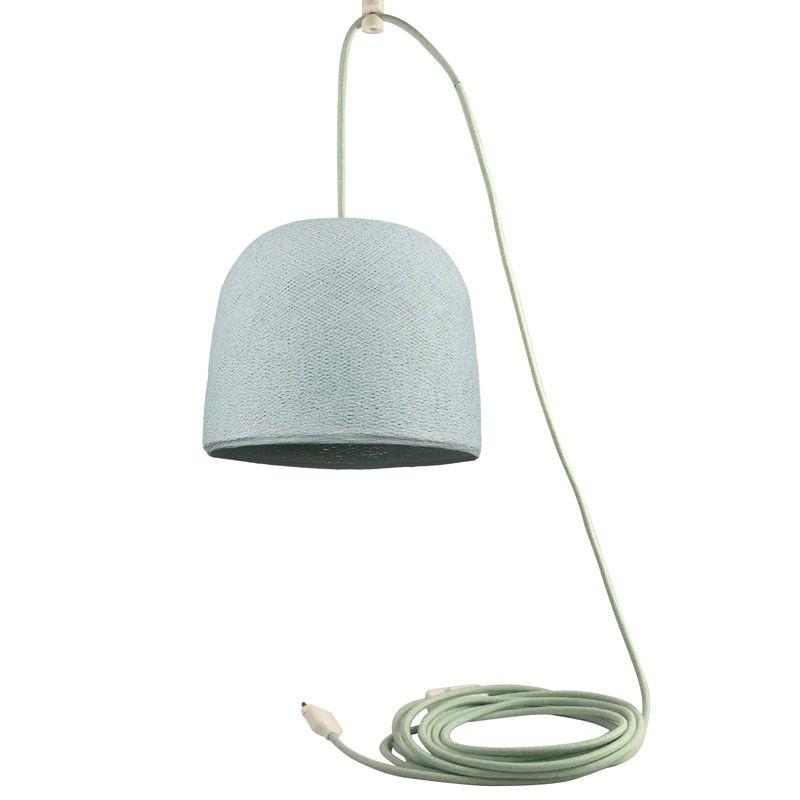 Mobile hanging fixture azure Cloche - Mobile Light fixture - La Case de Cousin Paul