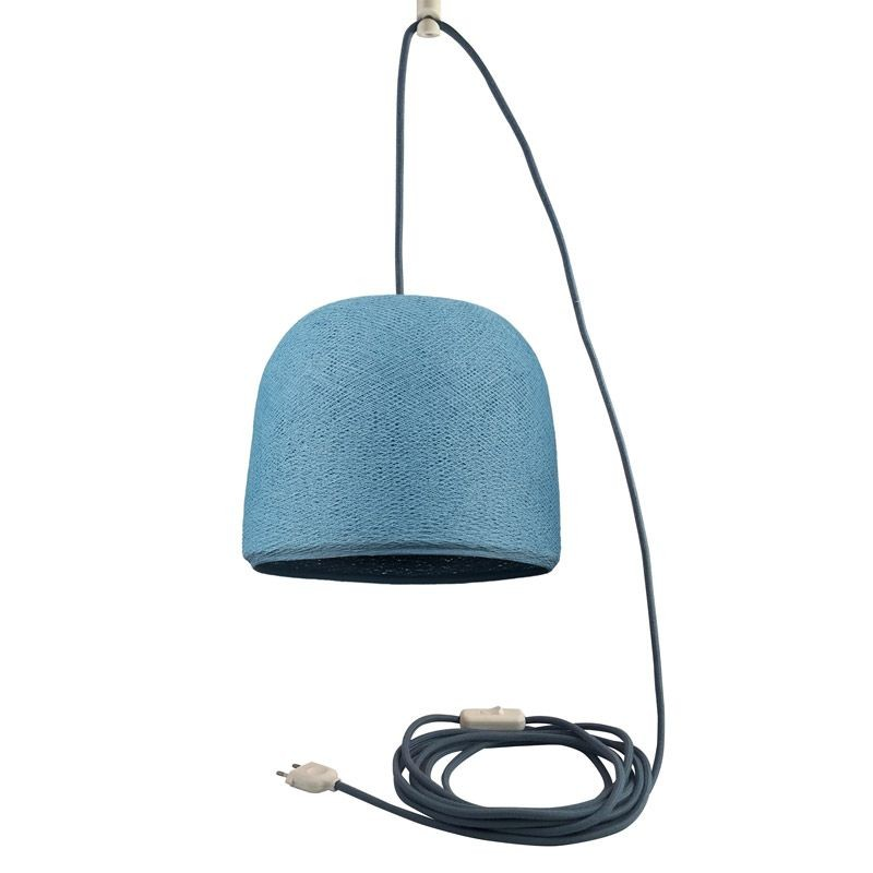 Mobiel ophangsysteem Cloche denim - Suspension nomade - La Case de Cousin Paul