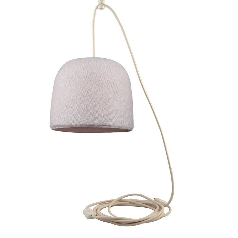 Mobile hanging fixture sugared almond Cloche - Mobile Light fixture - La Case de Cousin Paul