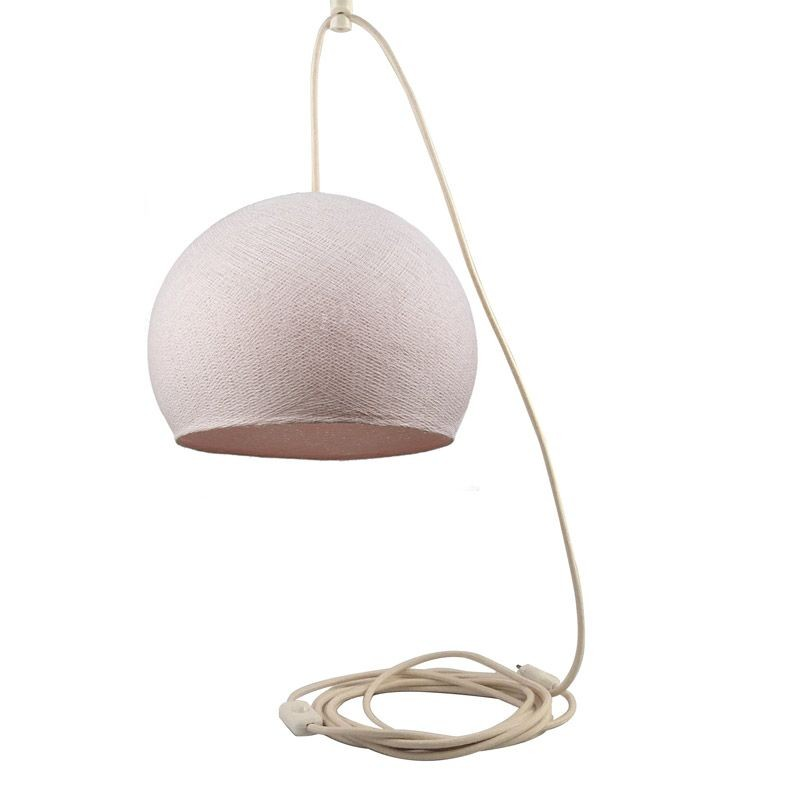 Mobile hanging fixture sugared almond S cupola - Mobile Light fixture - La Case de Cousin Paul