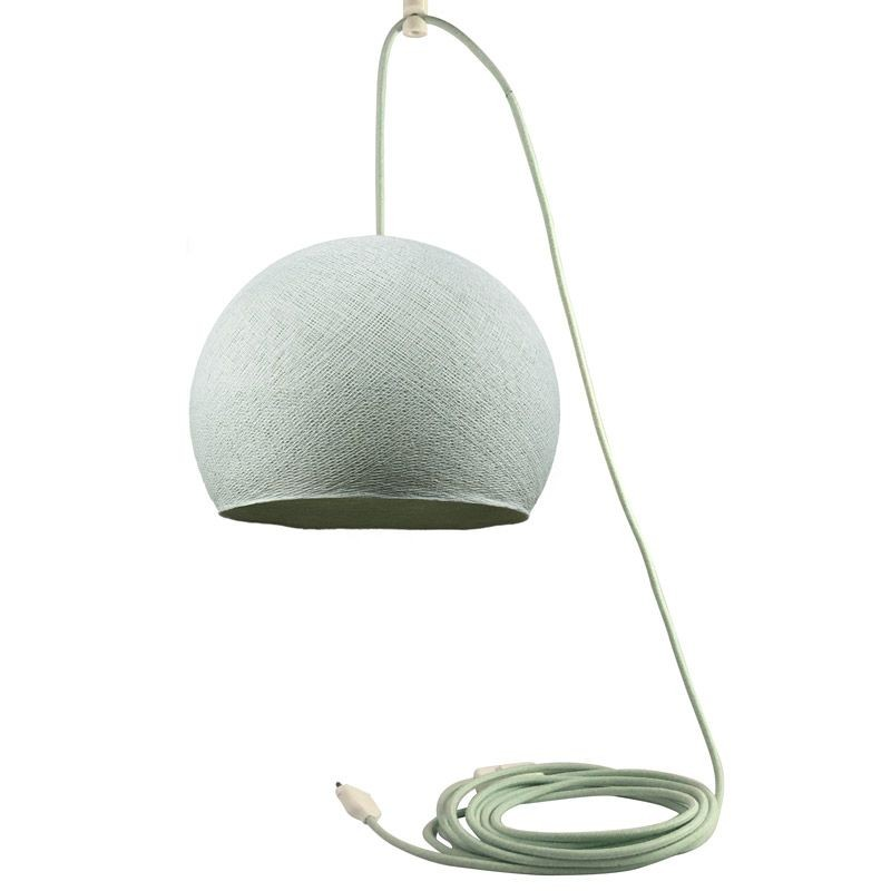 Mobile hanging fixture azure S cupola - Mobile Light fixture - La Case de Cousin Paul