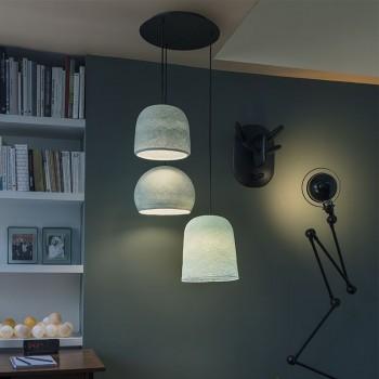 Lámpara de techo 3 azul - Lámpara de techo 3 - La Case de Cousin Paul