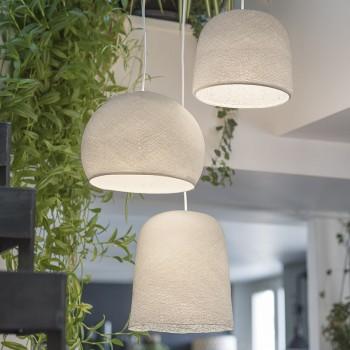 Lámpara de techo 3 blanco - Plafonnier 3 - La Case de Cousin Paul