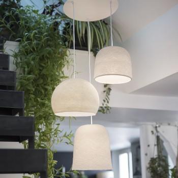 Lámpara de techo 3 peladilla - Plafonnier 3 - La Case de Cousin Paul