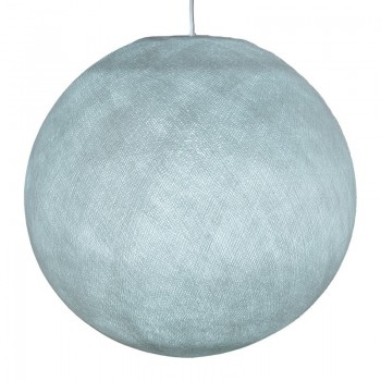 Mobile hanging fixture azure S ball - Mobile Light fixture - La Case de Cousin Paul