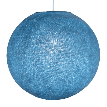 Mobile hanging fixture denim S ball - Mobile Light fixture - La Case de Cousin Paul