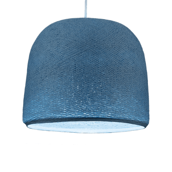 Mobile hanging fixture denim Cloche - Mobile Light fixture - La Case de Cousin Paul