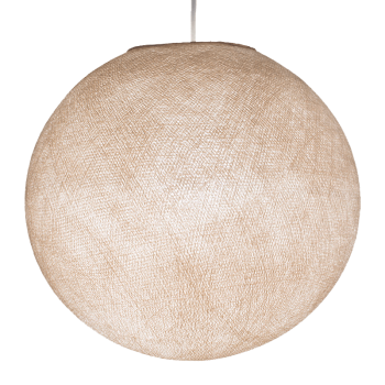 Mobile hanging fixture linen S ball - Mobile Light fixture - La Case de Cousin Paul