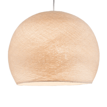 Mobile hanging fixture sugared almond S linen - Mobile Light fixture - La Case de Cousin Paul