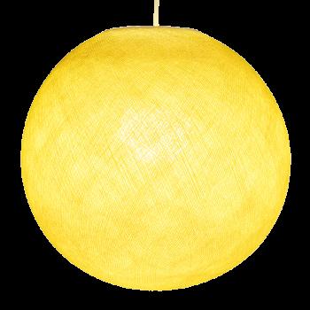 Mobile hanging fixture yellow S ball - Mobile Light fixture - La Case de Cousin Paul