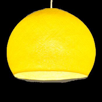 Attacco a sospensione mobile a una cupola S giallo - Suspension nomade - La Case de Cousin Paul