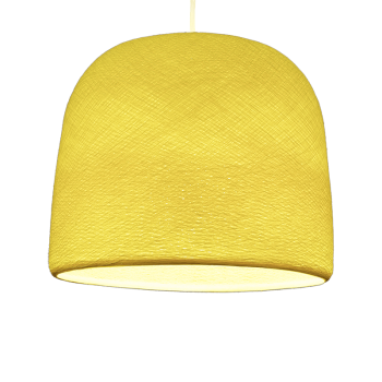 Mobile hanging fixture yellow Cloche - Mobile Light fixture - La Case de Cousin Paul