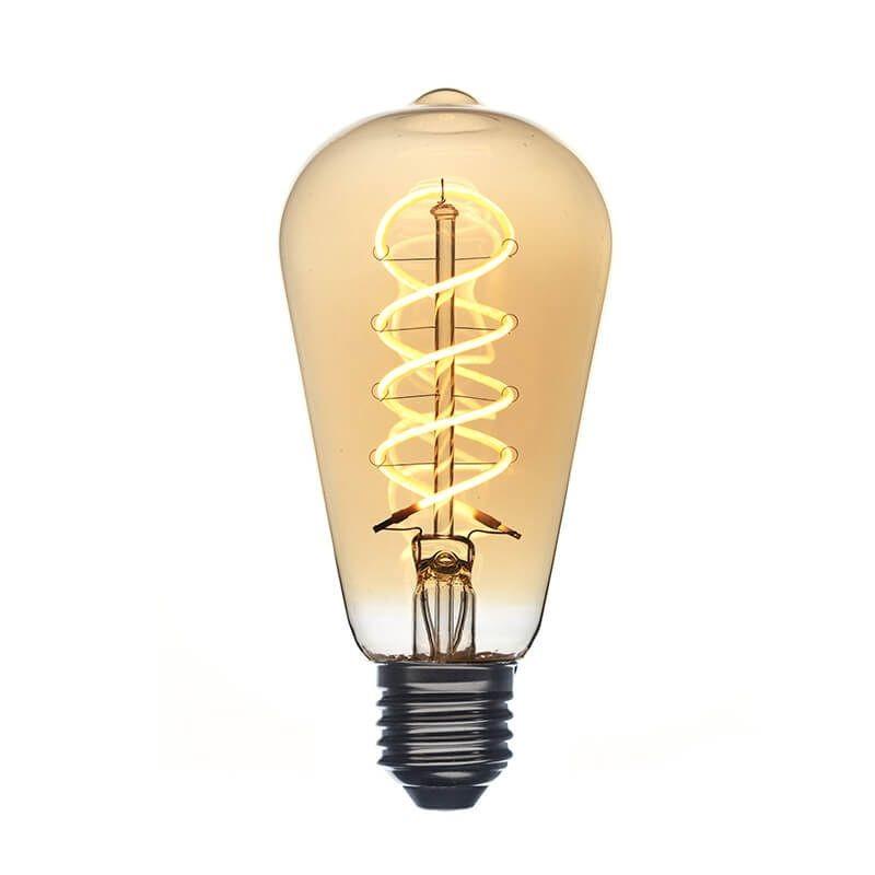 Amber LED Edison bulb - Ampoules - La Case de Cousin Paul