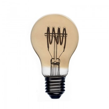 Leuchten Glühbirne Led Vintage Bernstein Ø60Cm - Lampenwelt - La Case de Cousin Paul
