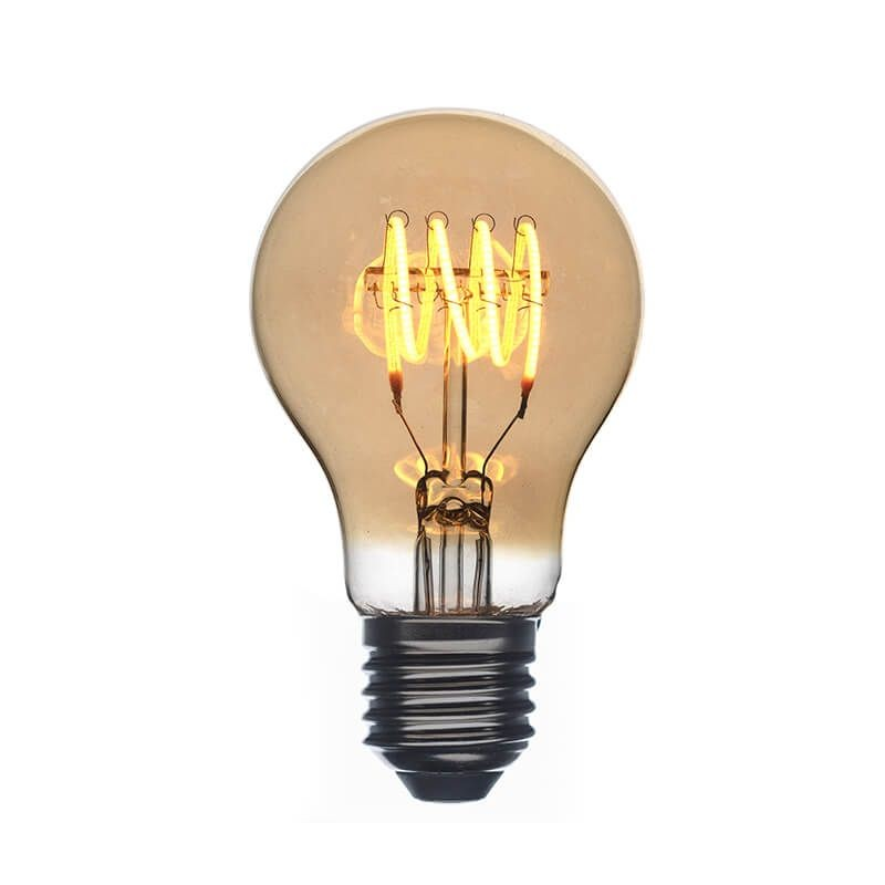 Amber LED Vintage bulb ø60cm - Lights  - La Case de Cousin Paul