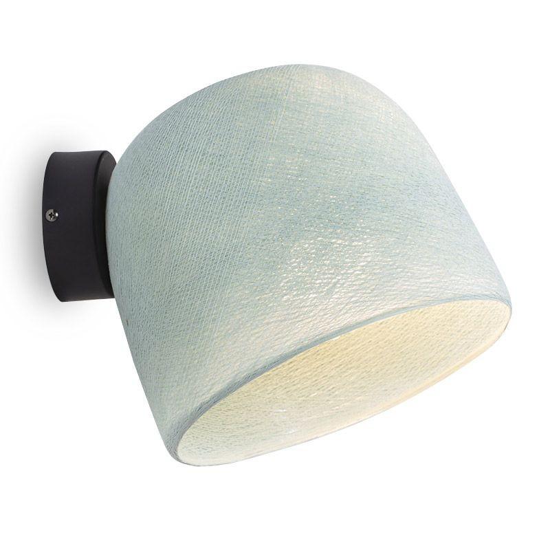 Muur licht azuurblauw - De wandlamp - La Case de Cousin Paul