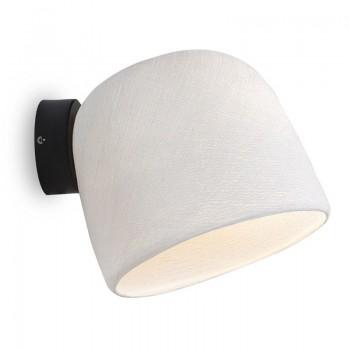 Muur licht wit - De wandlamp - La Case de Cousin Paul
