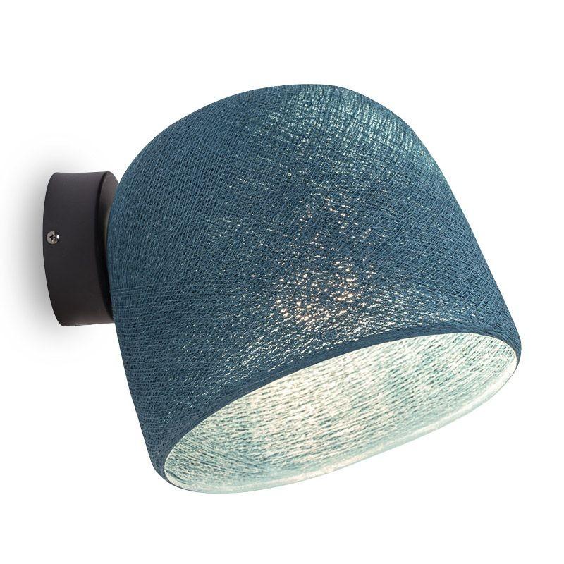 Muur licht eendenblauw - De wandlamp - La Case de Cousin Paul