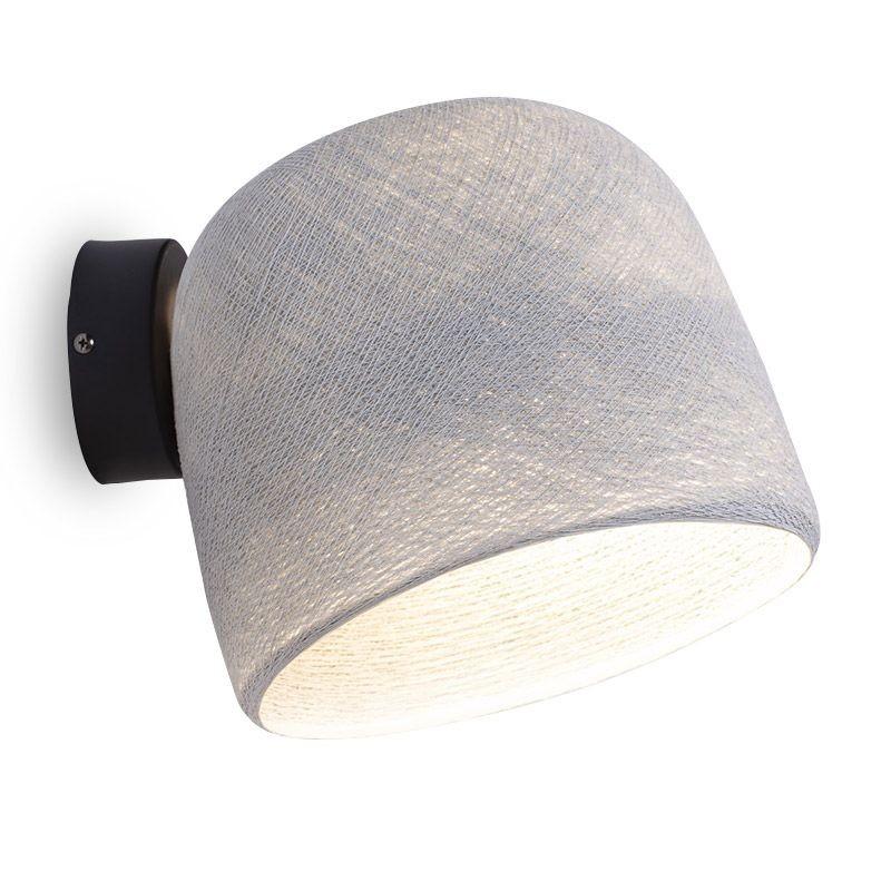 Muur licht parelgrijs - De wandlamp - La Case de Cousin Paul